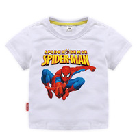 Disney Baby Spiderman T-shirt Childrens Boys Top Girls Cotton Clothing T-shirt Kids Cartoon Short Sleeve Tee Clothes Summer 2020
