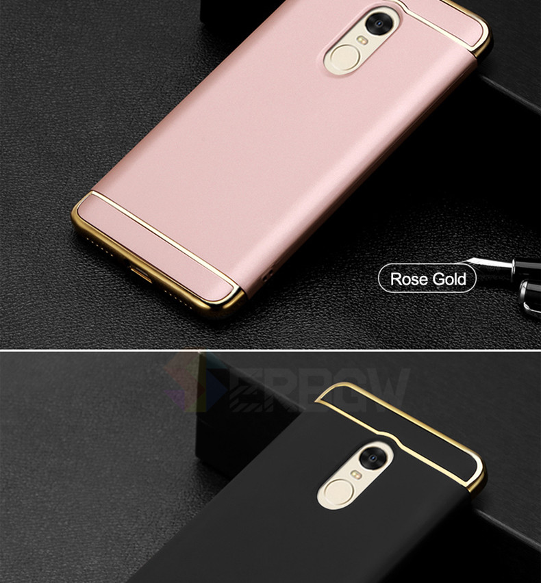 Luxury Hard Case For Xiaomi Redmi Note 4 4X 5A with Full Coverage 15