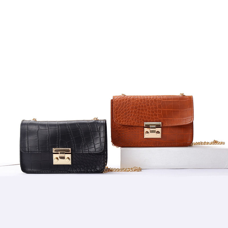 Women Fanny Pack Vintage Belt Bags Alligator Print Leather Waist Bag Messenger Shoulder Bags Small Phone Pouch Bolsa Feminina
