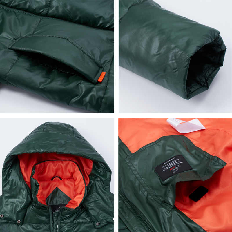 ICEbear 2020 새로운 여성 봄 자 켓 여성 짧은 코트 여성 의류 후드 품질 캐주얼 착용 GWC20011I