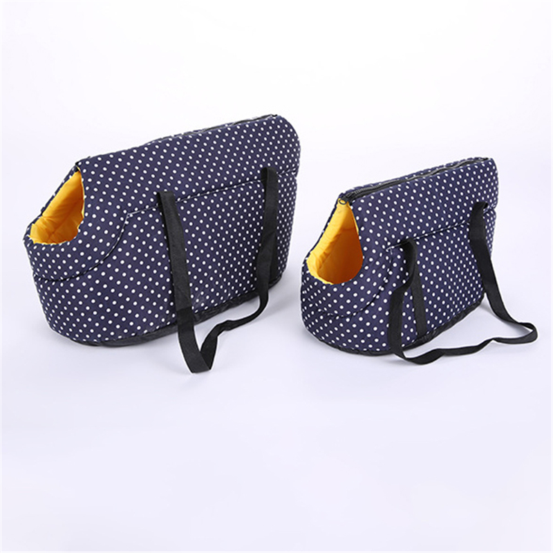 Soft Pet Carrier Bag with Wide Strap and Zipper for Large Puppies and Medium Size of Dog 2