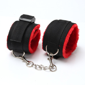 Image 3 - MISSOU Bdsm Sex Handcuffs Whip Collar Gag Nipple Clamps Bondage Rope Adult Sex Toys For Couples Women Anal Sex Butt Plug Tail
