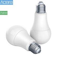 원래 Aqara 전구 Zigbee 버전 스마트 원격 LED 전구 Xiaomi Mijia Mi 홈 APP Homekit 게이트웨이
