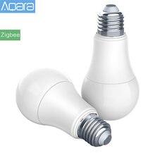 Original Aqara bombilla Zigbee versión inteligente bombilla LED con mando a distancia para Xiaomi Mijia Mi casa APP Homekit Gateway