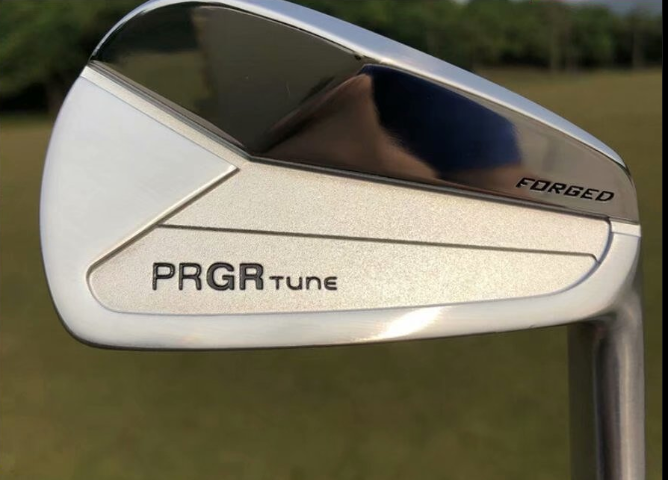 New Golf Clubs PRGR  TUNE  Golf Irons Set 4-9P Irons Clubs Golf Dynamic Gold R300 Steel Shaft Irons Free Shipping