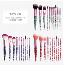 купить New Make Up Brushes 7-12 PCS Professional Blending Eyeshadow Foundation Powder Eyebrow Brush For Makeup Cosmetic Beauty Set дешево