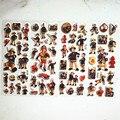 6 шт. толстовки с капюшоном с изображением из мультфильма «Пожарный Сэм» для Стикеры s для образования детей номеров домашний декор дневник ...