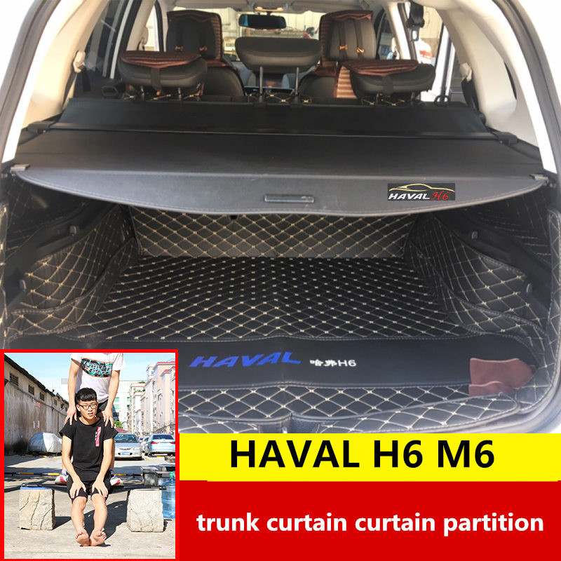 For HAVAL H6 2011-2019 M6 trunk curtain partition rear storage consolidation