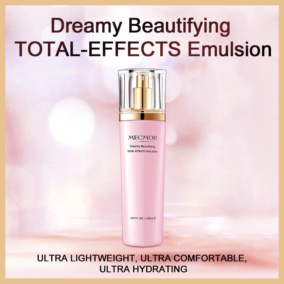 Dreamy Facial Emulsion Face Lotion Multiple Vegeta Essence Extract Moisturizer Skin MECMOR Additive Free Natural Organic 100mlEmulsion   -