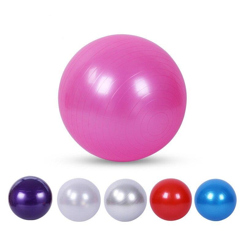 Yoga Balls Exercise Ball Pilates Fitness Gym Balance Ball Exercise Pilates Workout Massage Ball 55 Yoga Ball Pilates Ball