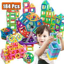 Mini Magnetic Designer Magnet Building Blocks Construction Set Magnetic Bircks DIY Toys For Children Gifts