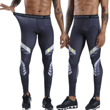 New Compression Pants Running Man Tights Men Slim Fit Sports Leggings Gym Training Jogging Soccer Trousers Yoga Bottoms Fitness