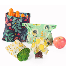 Wraps Organic Sandwich Beeswax-Food Plastic Reusable Storage-Wrap Cheese Food-Wrapping-Paper