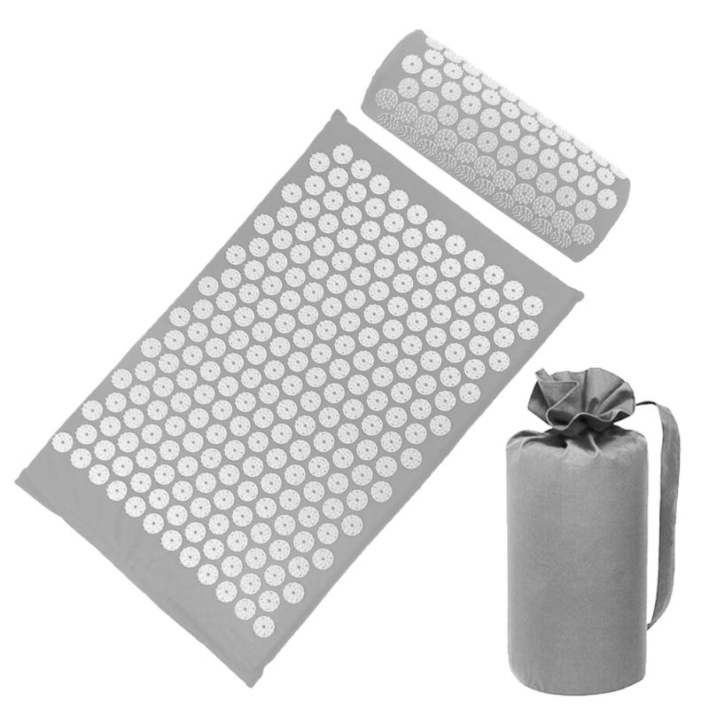 Acupressure Massage Mat with Pillow set to body Relaxation to Release Stress and Tension 58
