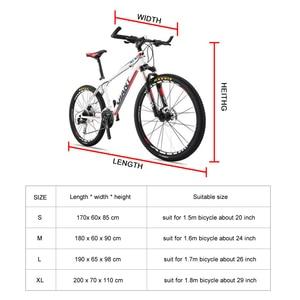 Image 5 - 防水バイク雨ダストカバー自転車カバー Uv 保護のためにバイク自転車ユーティリティサイクリング屋外レインカバー 4 サイズ S /M/L/XL