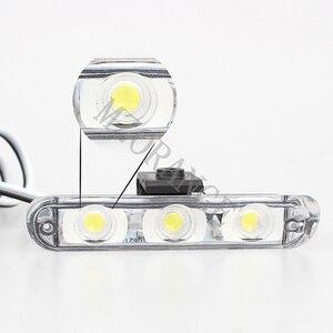 Image 3 - Wireless Remote 4x 3/led Krankenwagen Polizei licht DC 12V Strobe Warn licht für Auto Lkw Notfall Licht flash stroboskop Licht