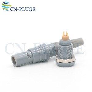 Image 2 - M10 نوع 0P 2 3 4 5 6 7 9 دبوس معدات طبية موصل الطاقة دفع سحب موصل البلاستيك الذاتي قفل