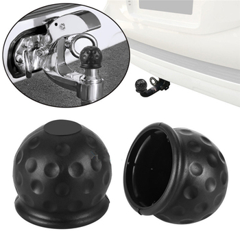 Universal 50MM Auto Trailer Ball Cover Tow Bar Cap Hitch Caravan Trailers Towball Protect Accessories