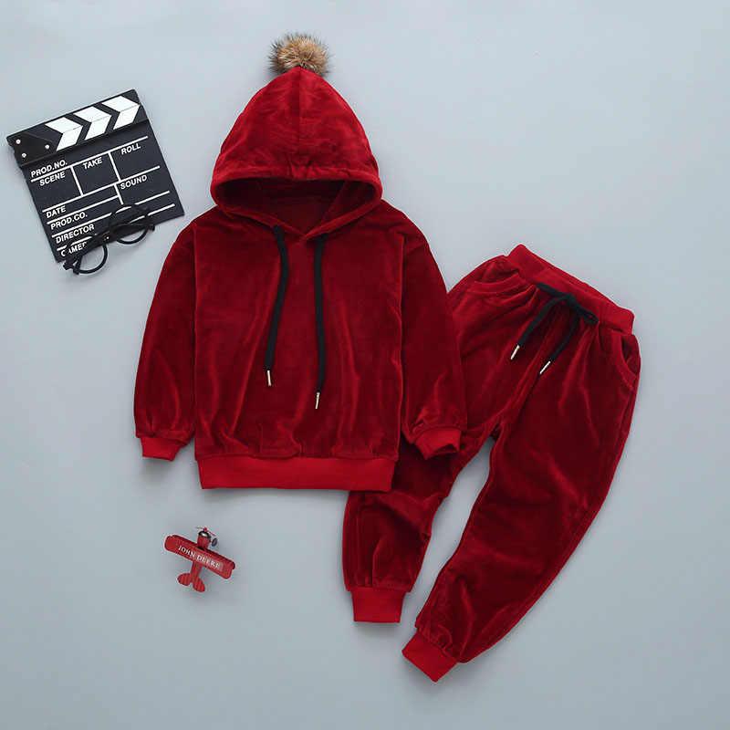 Odzież dziecięca jesienno-zimowa maluch chłopcy odzież ustawia Halloween ubrania kostiumy dla dzieci dla chłopców Sport garnitur