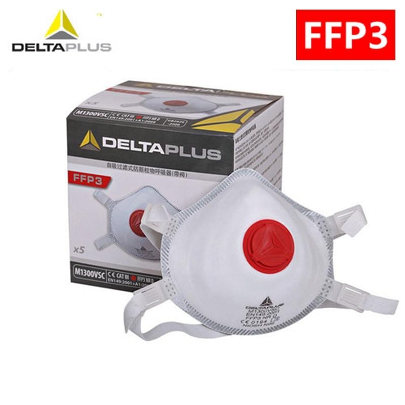 1 PCS FFP3 mask reusable face safety mask PM2.5 protection N99 valve filter respirator protection port FFP3 child dust masks