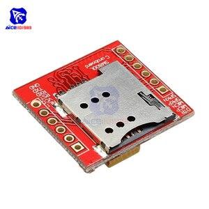 Image 4 - Diymore SIM800L GPRS GSM מודול Core Quad band TTL יציאה טורית IPX ממשק PCB אנטנה מיקרו כרטיס ה SIM עבור arduino חכם טלפון