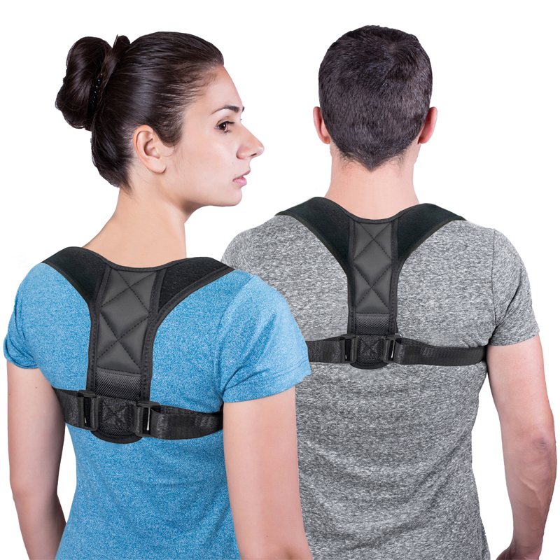 DropShipping Medical Clavicle Posture Corrector Adult Children Back Support Belt Corset Orthopedic Brace Shoulder Correct