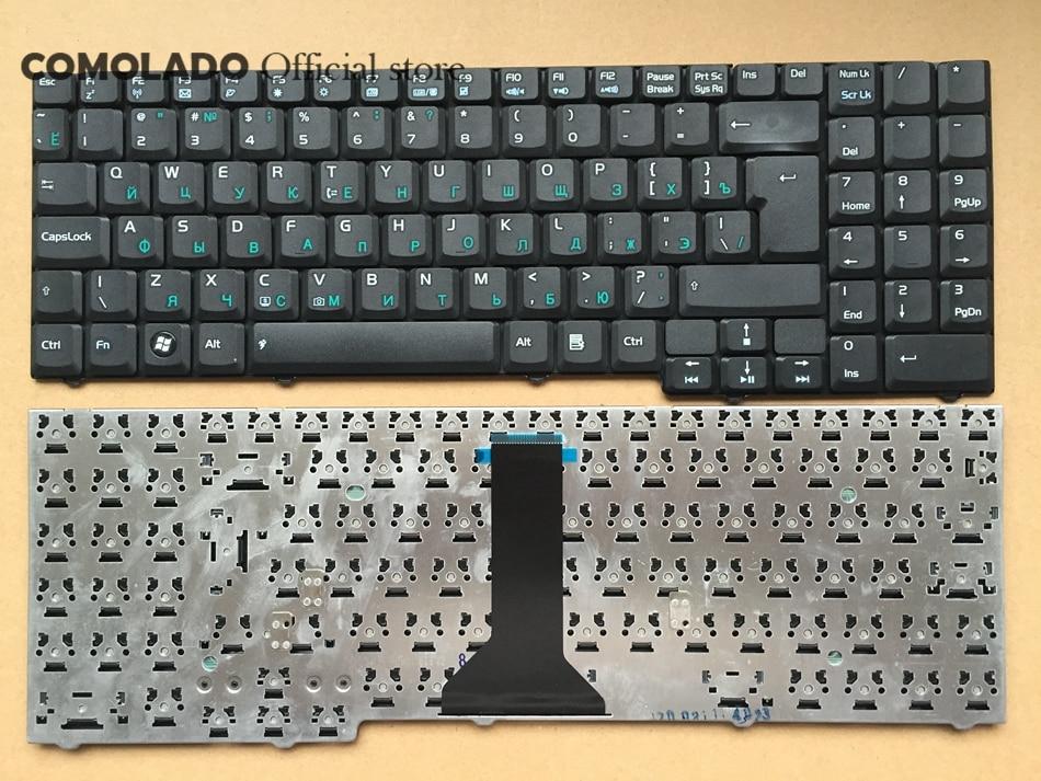 RU Russia Keyboard For Asus M51 M51V M51E M51Q M51S M51A M51T M51TA M51K F7 F7E F7F F7S F7Z Laptop Keyboard RU Layout