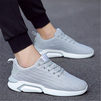 Breathable anti-odor Weaver men's shoes sports casual shoes 100 take net face running shoes 2