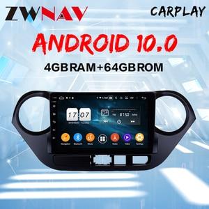 Android 10 DSP For Hyundai I10 I-10 2013 - 2018 Car Multimedia Stereo Player Radio GPS Navigation Head unit screen