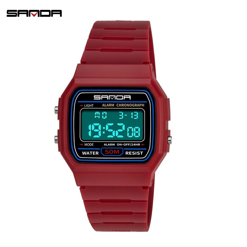 New Children Watch Waterproof  Boy Digital LED Sports Waterproof Wrist Watch Kids Alarm Date Gift Electronic Watch Girl Watch
