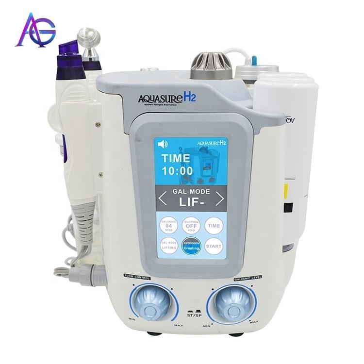 3 In 1 AQUASURE H2 Oxygen Hydrafacial Device Hydrogen BIO Skin Lifting And Facial Deep Cleaning Шайба для ли  Beauty Machine