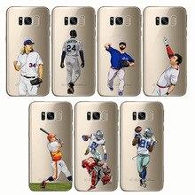 soft silicone phone cases baseball cartoon Bryce Harper cover Capinha Coque fundas capa for Samsung S6 S7edge Note9 8 S10plus