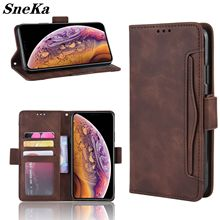 New Flip Wallet Case For iPhone 11 Pro Max SE 2 XS X XR 7 8 6S Plus Leather Retro Multi Card Holder Cover Full Protection Shell flip case for iphone 7 case wallet multi cards 360 full protect classic pu leather bags for iphone 5s se 6s 7 8 plus x xr xs max