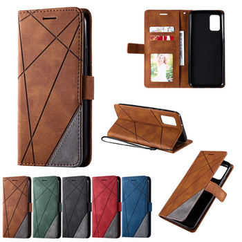 For SAMSUNG A02S Case Shockproof Business Card Slot Coque for Samsung Galaxy A02S A 02 S Retro Magnetic PU Leather Funda Cover