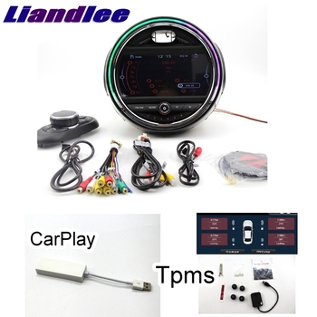 Liandlee Car Multimedia Player NAVI For Mini Hatch F55 F56 2014~2018  CarPlay TPMS Car Radio Stereo GPS Navigation CE System