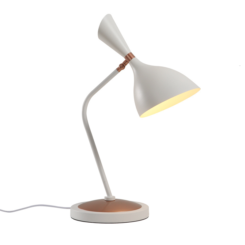 Simple Iron Wood Flexible Table Lamps For Bedroom Office abajur para quarto|LED Table Lamps|Lights & Lighting - title=