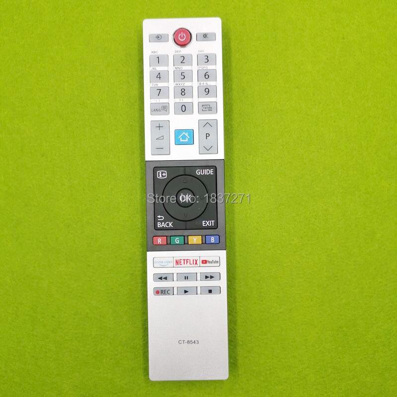 Новый пульт дистанционного управления для телевизора Toshiba 40L2863DG 32L3963DA 32L3863DG 32W2863DG 49L2863DG 49T6863DA 55U6863DA 55V5863DGПульты ДУ    АлиЭкспресс