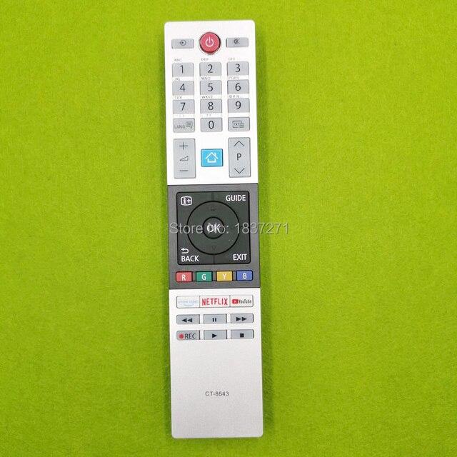 new  remote control CT 8543 for Toshiba 40L2863DG  32L3963DA 32L3863DG 32W2863DG 49L2863DG 49T6863DA  55U6863DA 55V5863DG led tv
