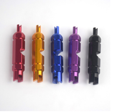 Bicycle Valve Core Remover Wrench Aluminum Alloy Bike Presta Valve Disassembly Removal Tool Bicycle Accessories