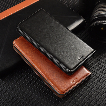 Crazy Horse Genuine Leather Case For Xiaomi mi 5 5s 5x 6 6x 8 9 9T cc9 cc9e SE Pro Plus A1 A2 A3 Lite Flip Cover Leather Cases