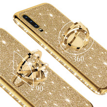 Diamond Glitter Bling Phone Case Voor Samsung Galaxy A72 A52 A42 A12 A02S M31 A70 A50Case A71 A51 5G samsungA72 A72Case A50 Cover