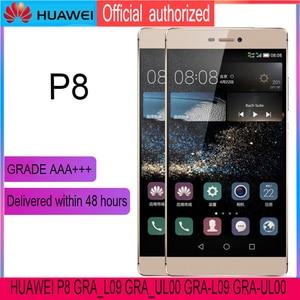 Image 3 - מקורי 5.2 תצוגה עם החלפת מסגרת עבור Huawei P8 LCD מסך מגע Digitizer עצרת GRA L09 GRA UL00 GRA L09