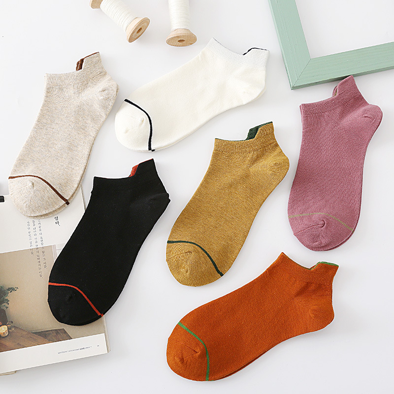 Spring Summer Cute Women Socks Cotton With Small Ears  Haajuku Style Funny Socks Women Streetwear Casual Calcetines Mujer 30602