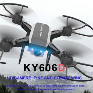 Image 2 - KY606D Drone 4K Hd Luchtfotografie 1080P Vier As Vliegtuigen 20 Minuten Vlucht Luchtdruk Hover Een key Take Off Rc Quadcopter