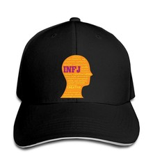 Baseball Cap INFJ Meyers Briggs Description Head MBTI Personality Snapback hat peaked(China)