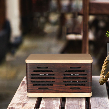 Retro Speaker Wireless Bluetooth Speakers Portable Phone Function 3000mAh Wooden Classic Speaker Audio Home Stereo Music Player
