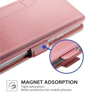 Image 5 - Para Nokia 7,2 Funda de cuero tipo cartera con tapa y soporte con espejo a prueba de golpes para Nokia 3,1 C Nokia 2,2 funda con ranura para tarjeta de lujo