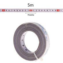 Miter Saw Track Tape Measure Self Adhesive Backing Metric Steel Ruler 1/2/3/5M