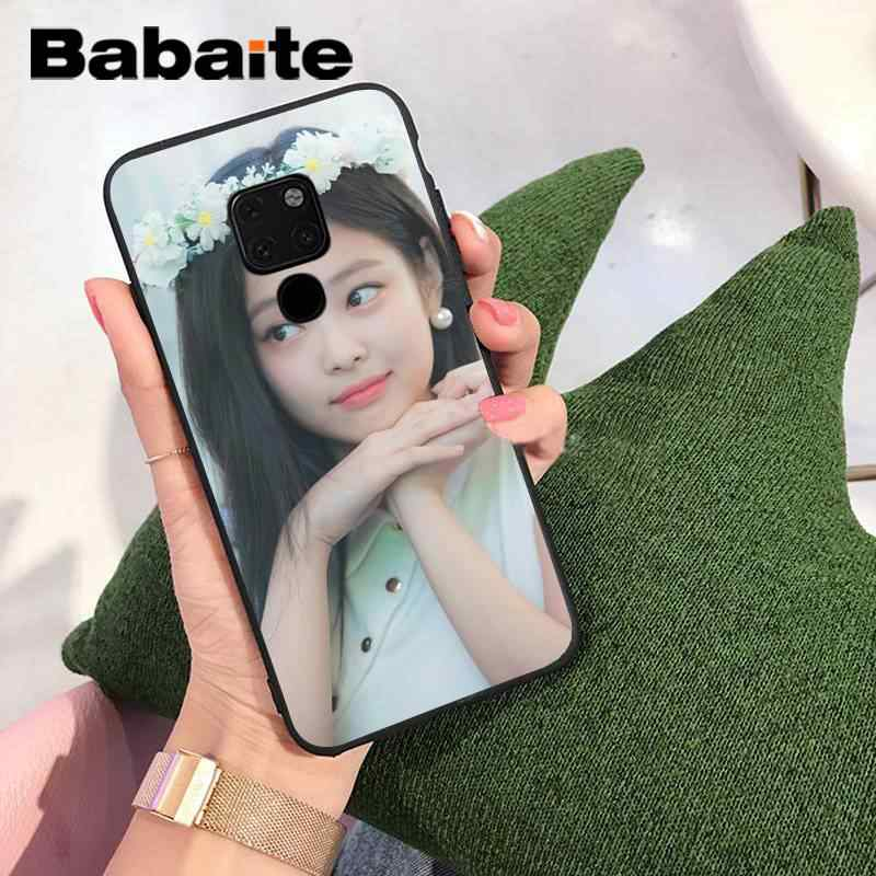 Babaite أسود وردي BLACKPINK kpop كلية جراب هاتف مصنوع خصيصًا لهاتف هواوي P9 P10 Plus Mate9 10 Mate10 Lite P20 Pro honor 10 view 10