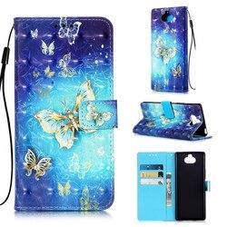 На Алиэкспресс купить чехол для смартфона colorful leather flip case sfor sony sony xperia l3 xa3 xz3 xa2 plus xz2 x20 xz5 case coque 3d painted wallet stand phone cover